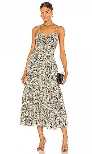 Платье jenay Alexis. Цвет: taupe,black