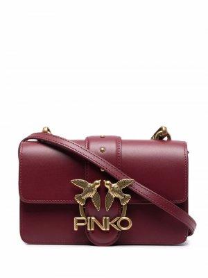 Mini Love Icon crossbody bag Pinko. Цвет: красный