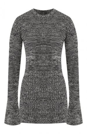 Пуловер Victoria, Victoria Beckham. Цвет: темно-синий