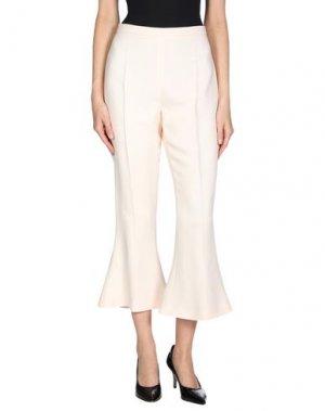 Повседневные брюки ANTONIO BERARDI. Цвет: пастельно-розовый