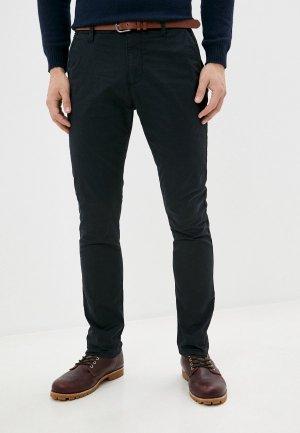 Брюки Indicode Jeans. Цвет: черный