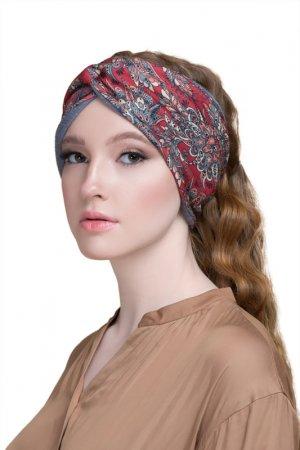 Повязка для волос Paon. Цвет: бордовый