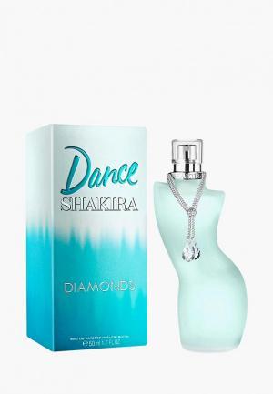 Туалетная вода Shakira Dance Diamonds, 50 мл. Цвет: прозрачный