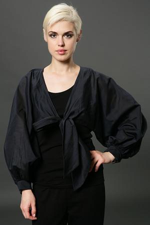 Болеро Albino. Цвет: черный