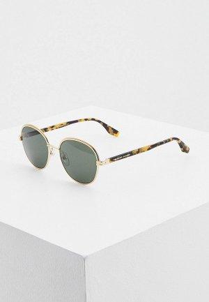 Очки солнцезащитные Marc Jacobs 532/S PEF. Цвет: золотой