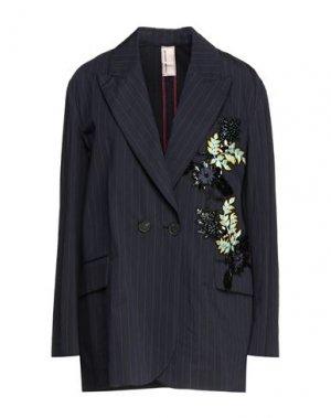 Пиджак ANTONIO MARRAS. Цвет: темно-синий