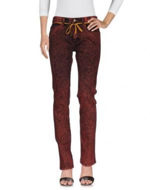 Джинсовые брюки IRIEDAILY. Цвет: кирпично-красный