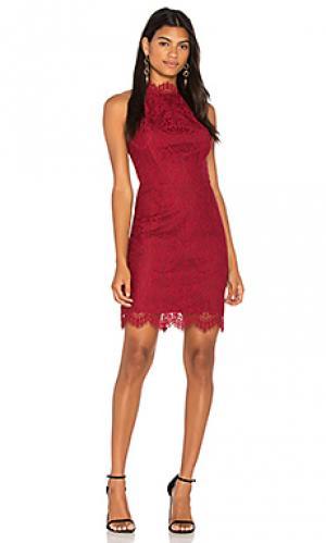 Платье cherie BB Dakota. Цвет: красный