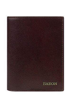 Портмоне Baron. Цвет: коричневый