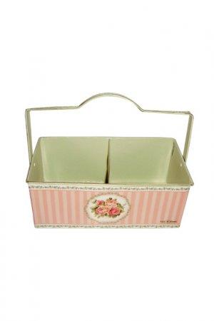 Ящик для хранения GiftnHome Gift'n'Home. Цвет: бежевый, розовый