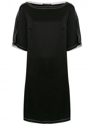 Shift dress Gloria Coelho. Цвет: черный