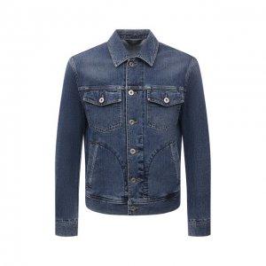 Джинсовая куртка Brioni. Цвет: синий