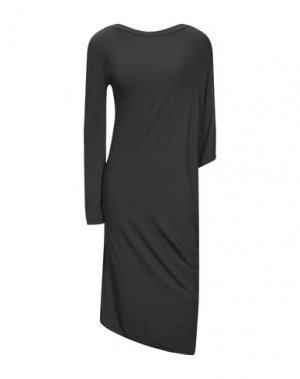 Платье до колена LA FABRIQUE. Цвет: темно-зеленый