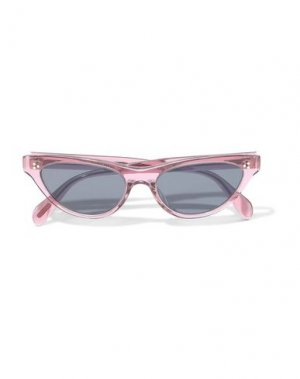 Солнечные очки OLIVER PEOPLES. Цвет: пастельно-розовый