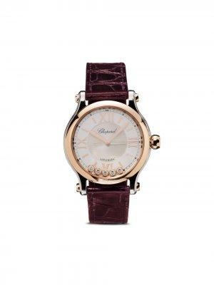 Наручные часы Happy Sport Automatic 33 мм Chopard. Цвет: белый
