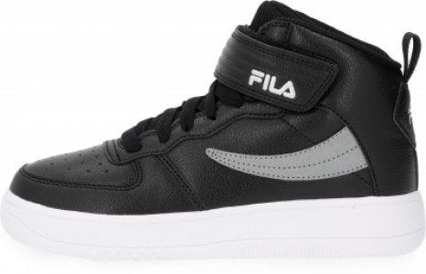 Кеды высокие для мальчиков Fil High, размер 38 FILA. Цвет: черный