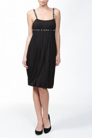 Платье Roccobarocco. Цвет: чёрный