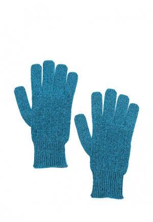 Перчатки United Colors of Benetton UN012DMYFF60. Цвет: бирюзовый