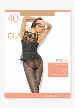Колготки Glamour Style 40 DEN. Цвет: бежевый