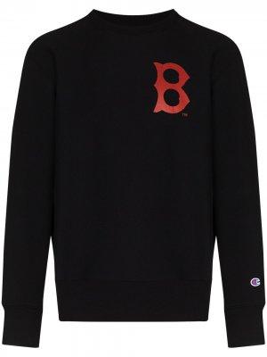 Толстовка из коллаборации с Red Sox™ Champion. Цвет: черный