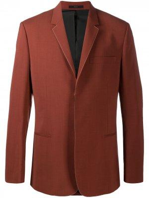 Пиджак Unfinished Paul Smith. Цвет: коричневый