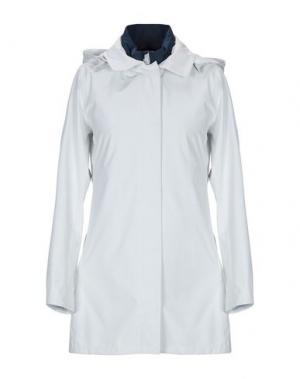Легкое пальто PEOPLE OF SHIBUYA. Цвет: светло-серый