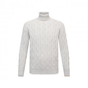 Кашемировый свитер Brunello Cucinelli. Цвет: серый