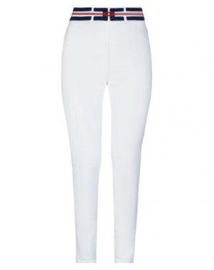 Джинсовые брюки ELISABETTA FRANCHI. Цвет: белый