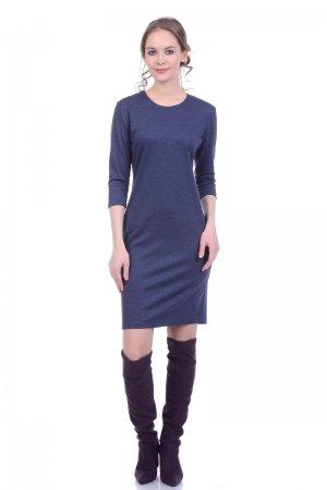 Трикотажное платье водолазка Lautus
