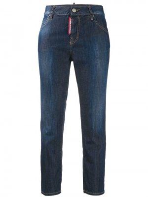 Укороченные джинсы герлфренд Dsquared2
