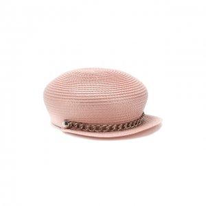 Кепка Sabrina Eugenia Kim. Цвет: розовый