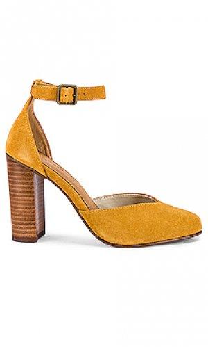 Обувь на каблуке collette Soludos. Цвет: горчичный