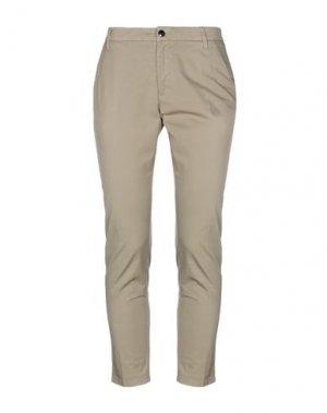 Повседневные брюки HENRY COTTON'S. Цвет: хаки