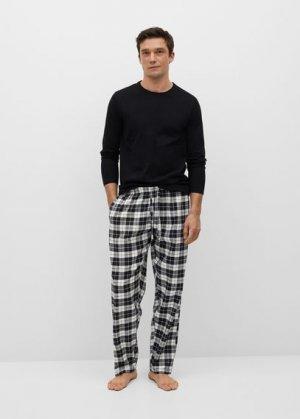 Комплект пижама из хлопка - Noe Mango. Цвет: черный