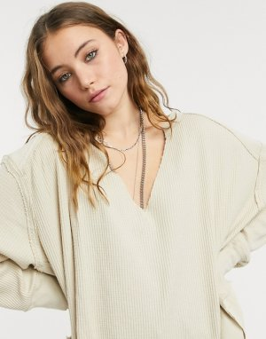 Кремовый термотоп хенли Owen Free People