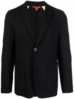 Однобортный пиджак Barena. Цвет: черный