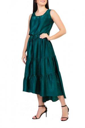 Платье Forus. Цвет: малахитовый