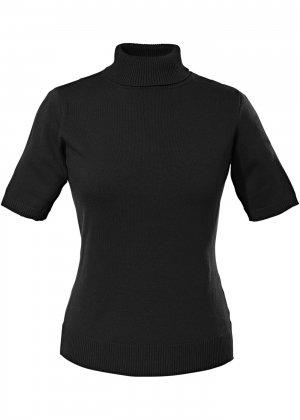 Пуловер bonprix. Цвет: черный