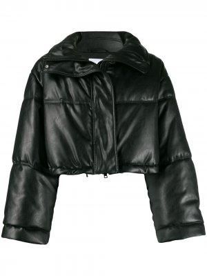 Укороченная куртка-пуховик Brognano. Цвет: черный