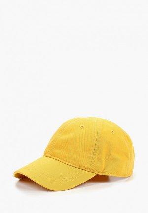 Бейсболка Lacoste. Цвет: желтый