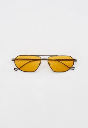 Очки солнцезащитные Emporio Armani EA2113 300385. Цвет: серебряный