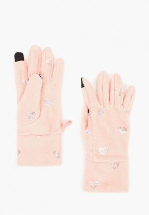Перчатки Gap. Цвет: розовый