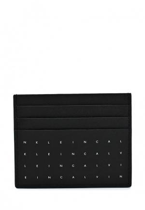 Визитница Calvin Klein Jeans. Цвет: черный