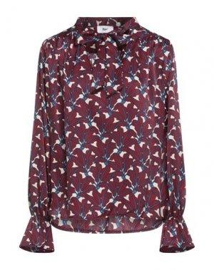 Блузка B.YU. Цвет: красно-коричневый