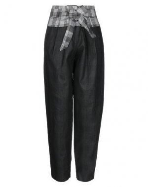 Повседневные брюки 8PM. Цвет: стальной серый