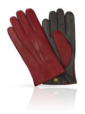 Перчатки MICHEL KATANA`. Цвет: бордовый