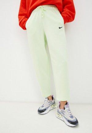 Брюки спортивные Nike W NSW ESSNTL FLC MR PNT CLCTN. Цвет: зеленый