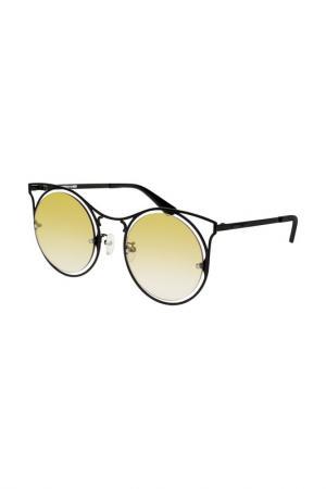 Очки солнцезащитные MCQ. Цвет: 004