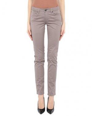 Повседневные брюки CAMOUFLAGE AR AND J.. Цвет: голубиный серый