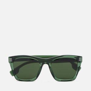 Солнцезащитные очки Cooper Burberry. Цвет: зелёный